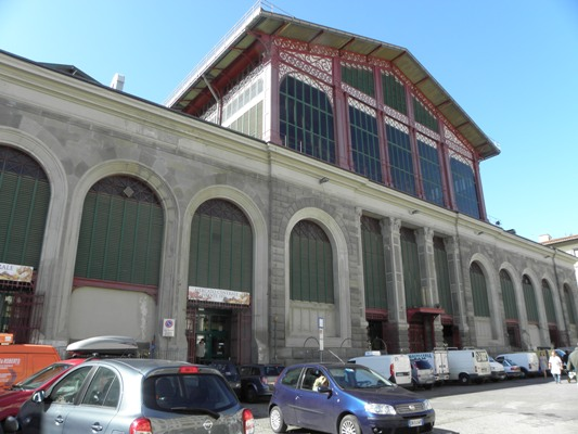 Mercato Centrale-Firenze circa 1874