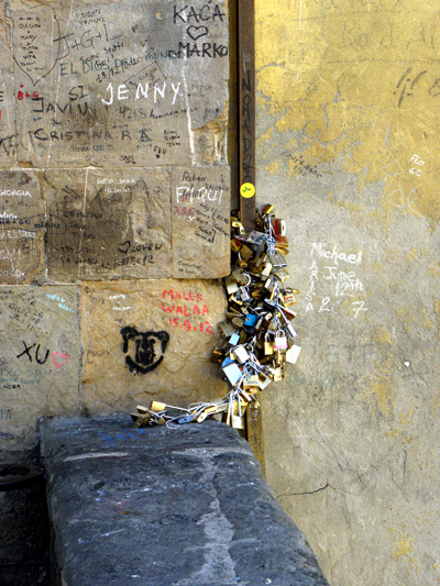 The Locks of Ponte Vecchio