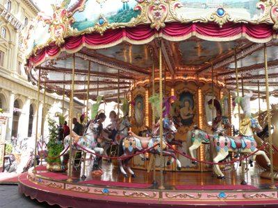 Carousel at Piazza della Repubblica