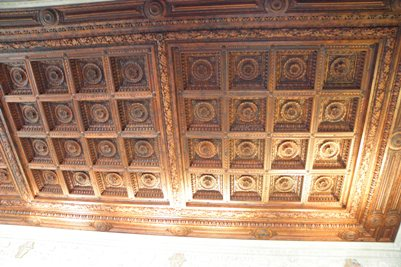 Pitti Palace ceiling - one of many