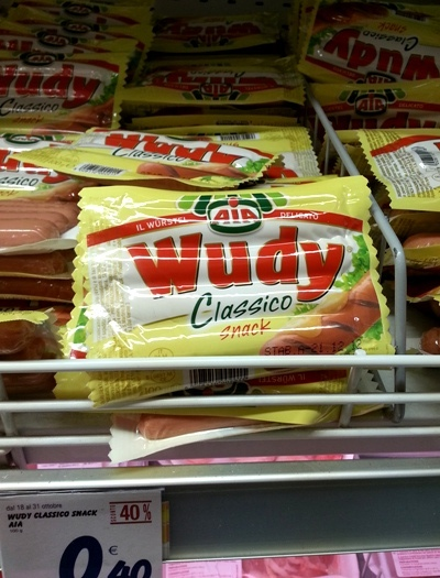 Wudy - A different kind of hot dog?